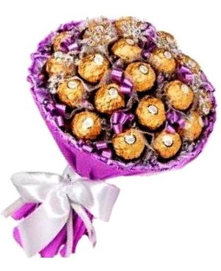 Букет из конфет -  Ева