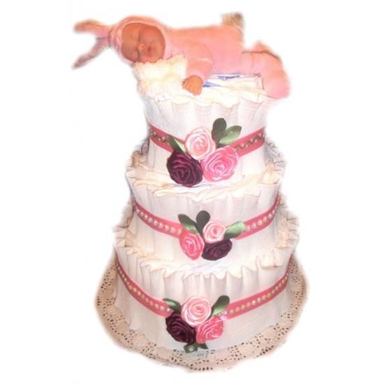 Торт из памперсов Зайка моя...