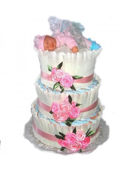 Торт из памперсов Эльф