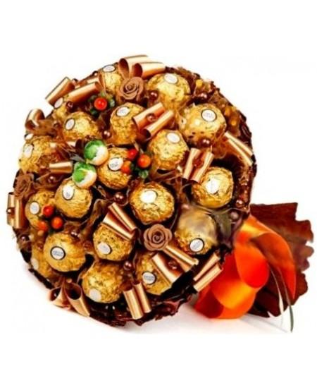Букет из конфет  Джаз