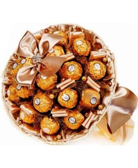 Букет из конфет  Сказка