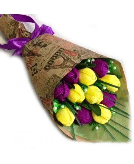 Букет из конфет - Де Люкс  - Супер цена - Срочная доставка в Москве