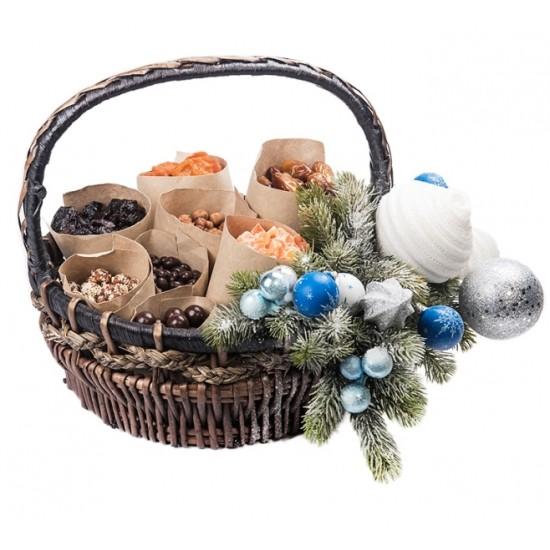 Корзина Восточные сладости Новогодняя