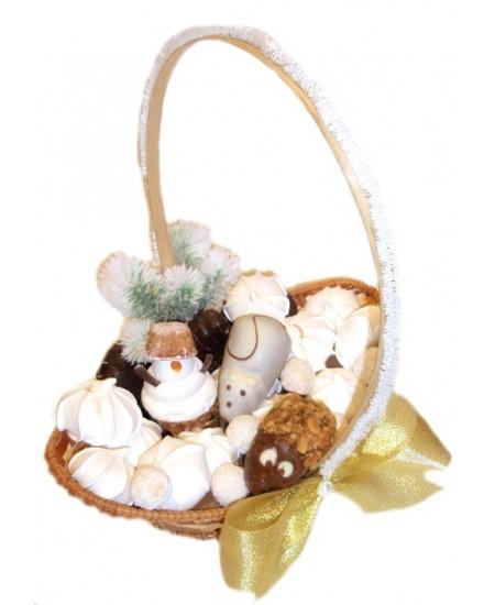 Корзина сладостей Сластена с мышкой