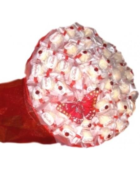 Букет из конфет  Кружева- Срочная доставка в Москве