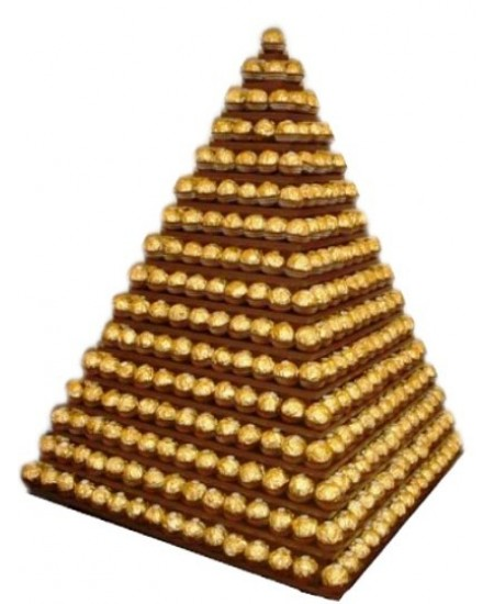 Арт-Букет Египетская пирамида
