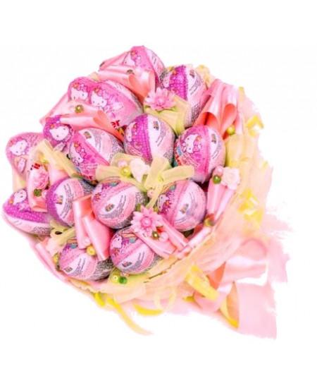 Букет из конфет  Киндербукет - Срочная доставка в Москве