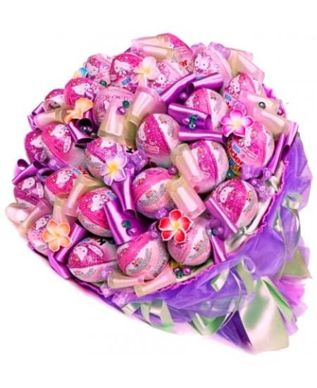 Букет из конфет  Киндерджой