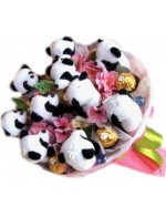 Панды в сакуре