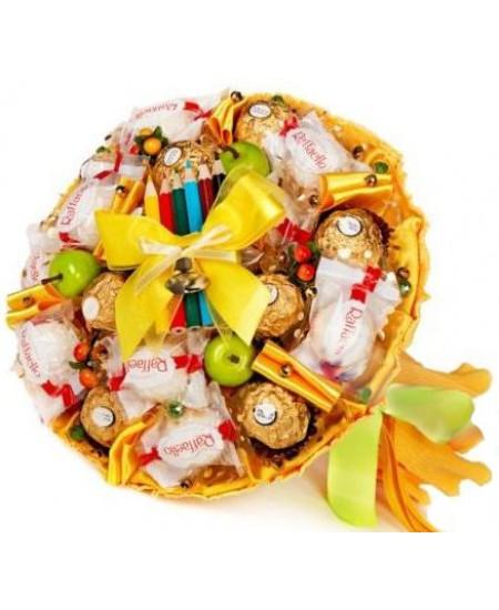 Букет из конфет Школьный