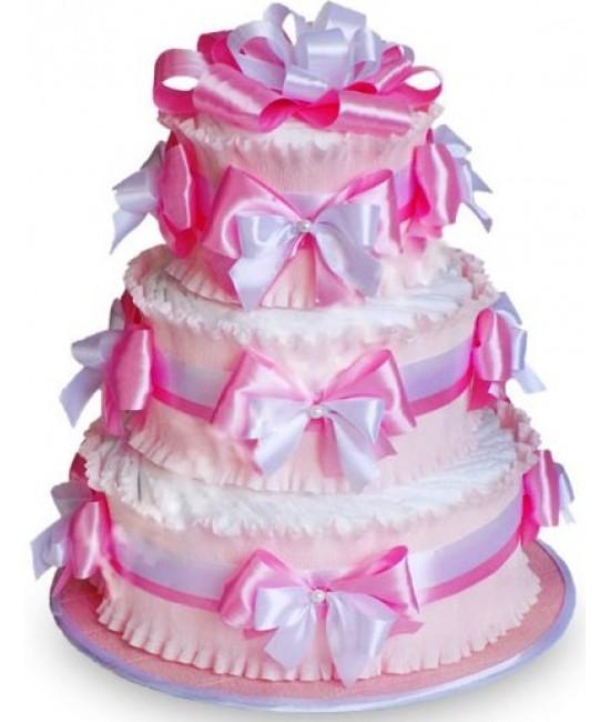 Торт Розовый