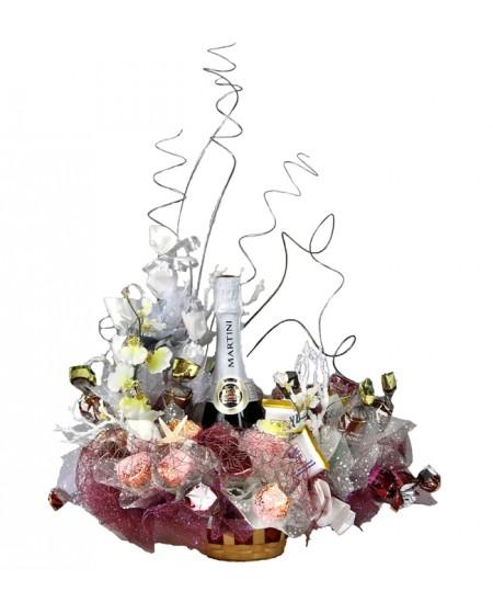 """Букет из конфет """"Ледяные фантазии"""""""