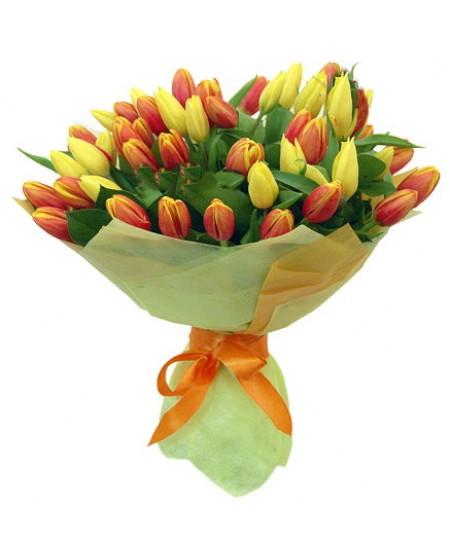 Букет из цветов  Флирт