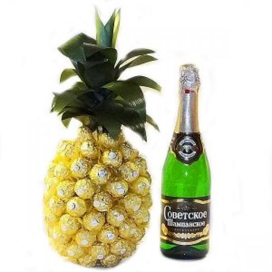Золотой ананас