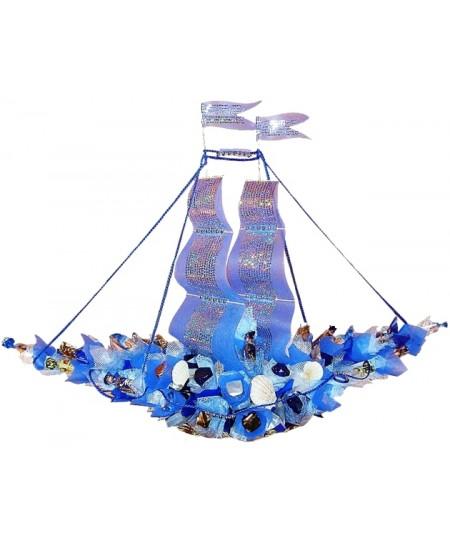 Букет из конфет  Корабль Шхуна «Мечта»