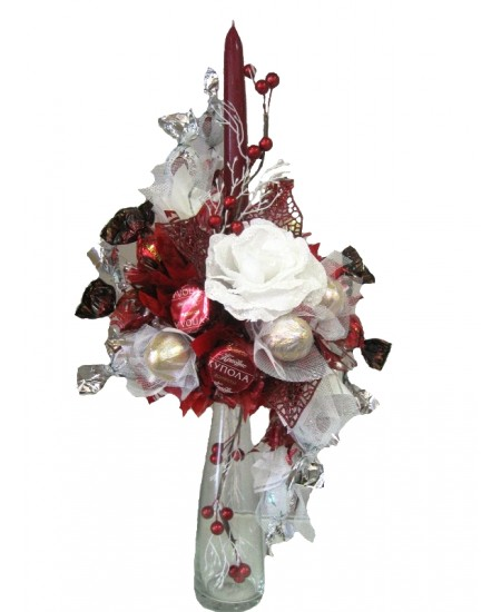 Букет из конфет Сахарная роза