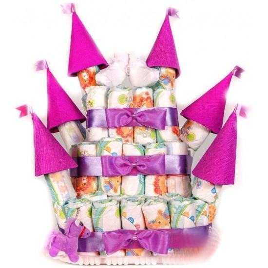 Торт Розовый Замок