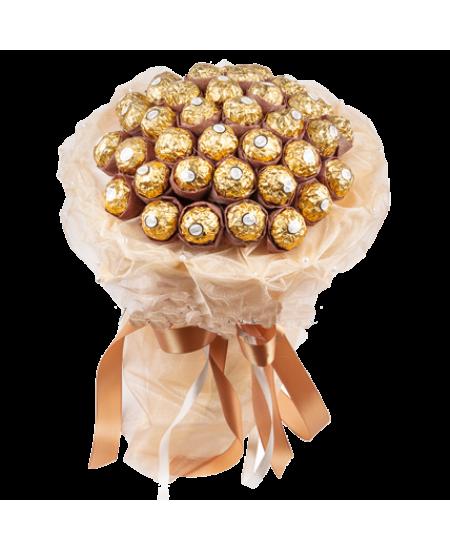 Букет из конфет  Пастель