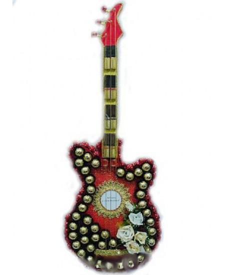 Букет из конфет  Гитара