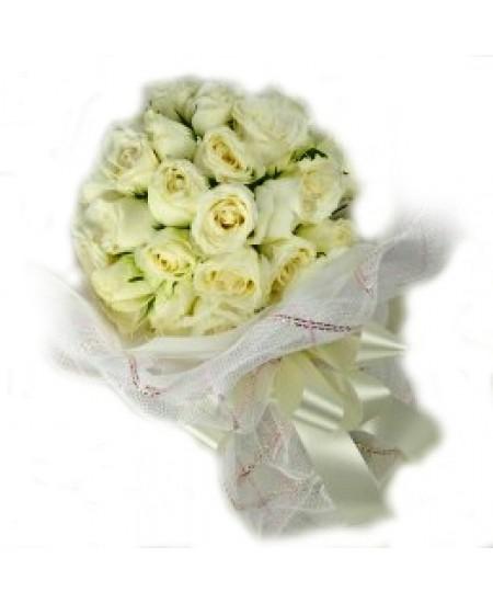 Букет из цветов Белоснежный