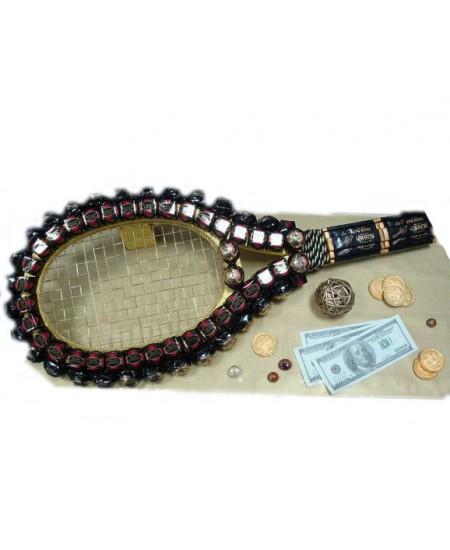 Букет из конфет Заядлому теннисисту