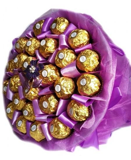 Букет из конфет  Нежный сюжет