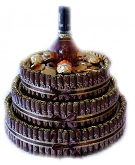 Арт-букет Шоколадный трюфель