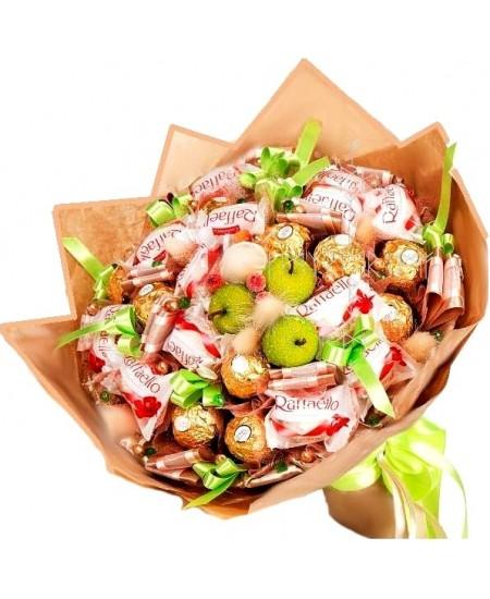 Букет из конфет - Европа  - Супер цена - Срочная доставка в Москве