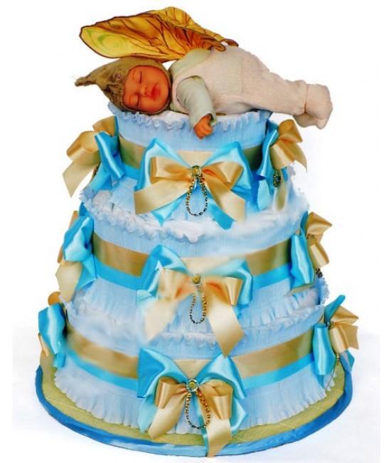 Торт из памперсов Мой любимый гном