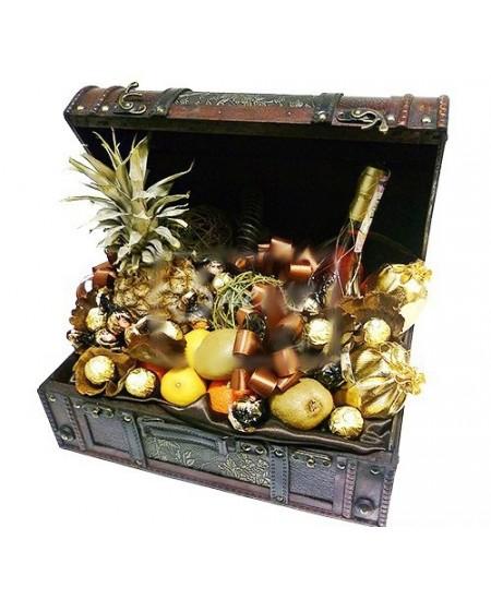 Букет из конфет Пиратские сокровища