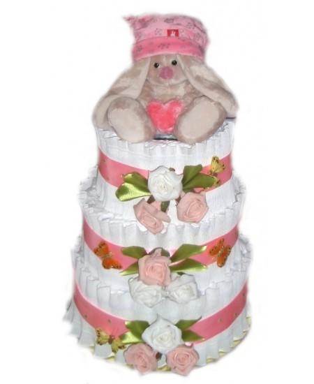 Торт из памперсов С любовью и нежностью...