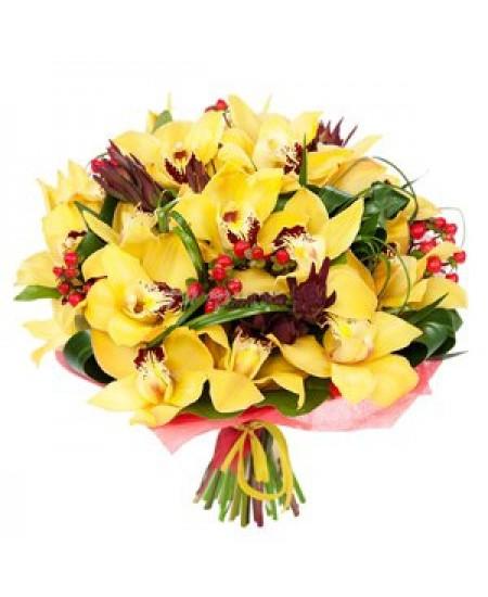 Букет из цветов Монпансье