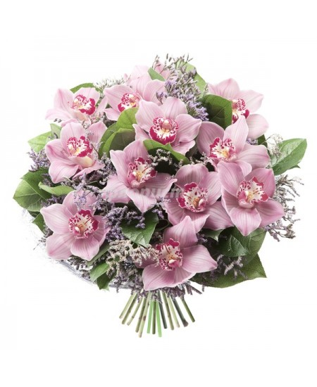 Букет из цветов  Розовая дымка