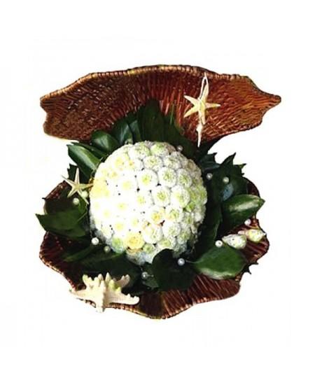 Букет из цветов  Жемчужина