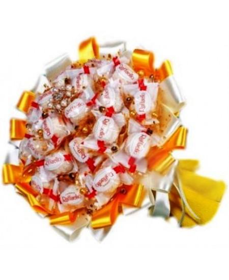 Букет из конфет  Солнечный луч  - Супер цена - Срочная доставка в Москве