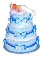 Торт из памперсов Нежная детка
