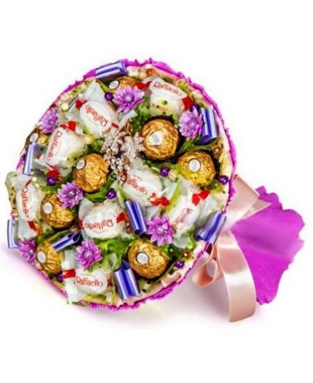 Букет из конфет  Юнона