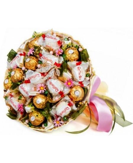 Букет из конфет Десерт
