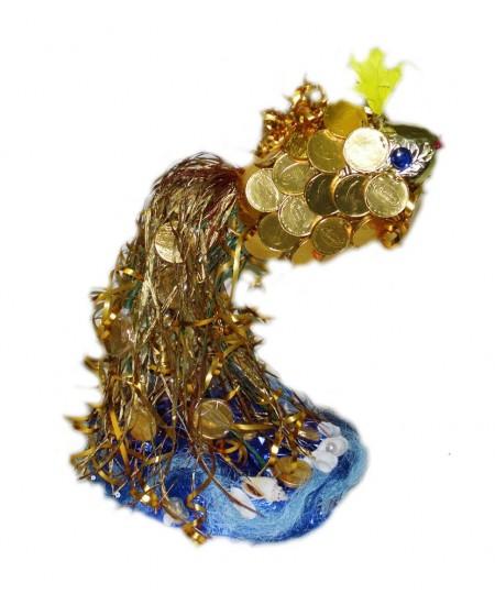 Букет из конфет  Золотая рыбка мини
