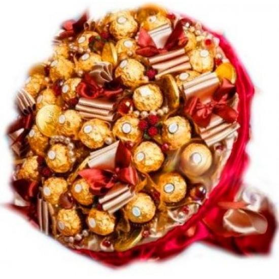 Шоколадный красный