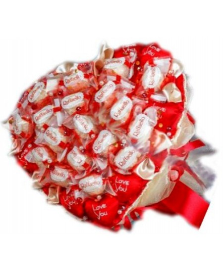 Букет из конфет  Моё сердечко