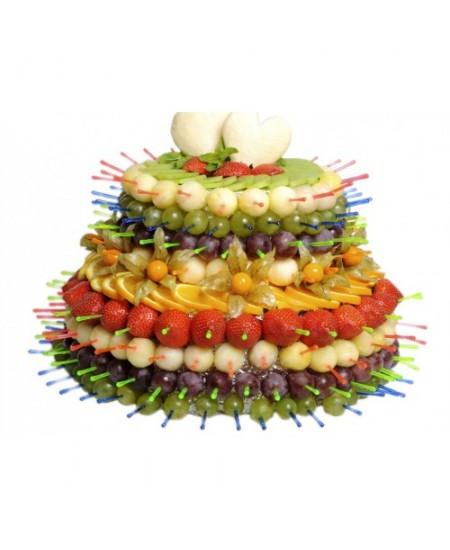 Букет из фруктов Фруктовый тортик