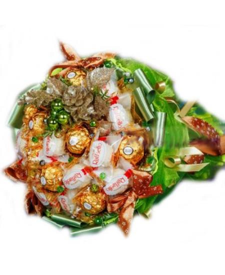 Букет из конфет Еловый