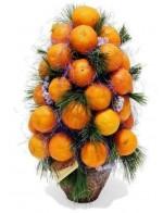 Мандариновая елочка