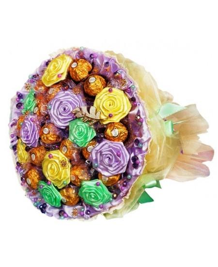 Букет из конфет  Прохлада