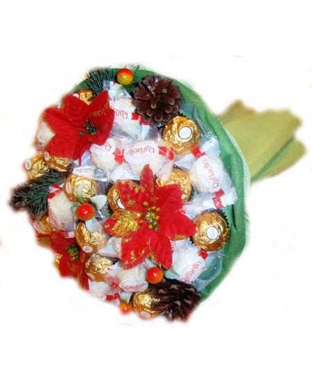 Букет из конфет  Россыпи конфетти