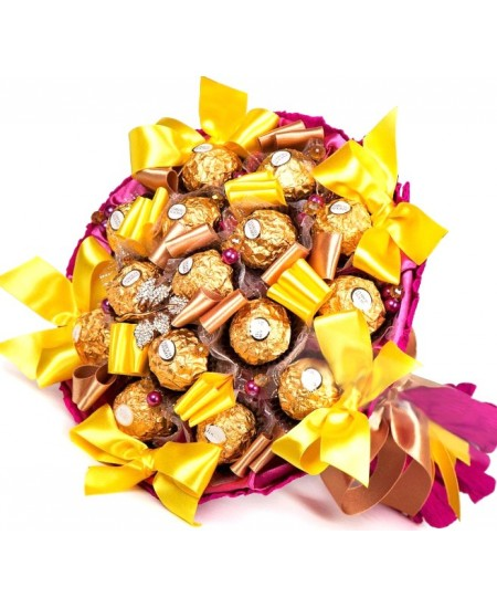 Букет из конфет Афина со Срочной Доставкой в Москве и Подмосковье