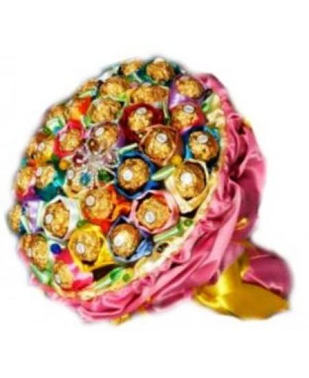Букет из конфет  Калейдоскоп