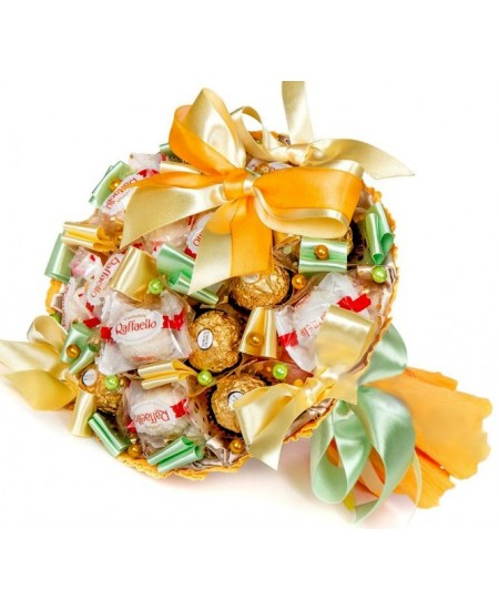Букет из конфет  Арриба со Срочной  Доставкой в Москве и Подмосковье