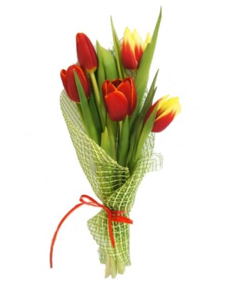 Букет из цветов  Рассвет